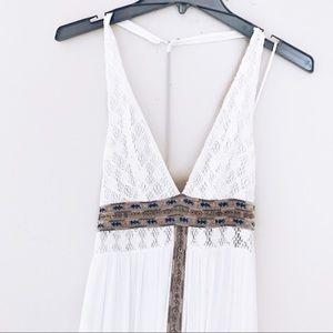 Free People Indian Summer Halter Dress