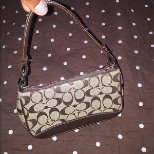 Coach Logo Mini purse