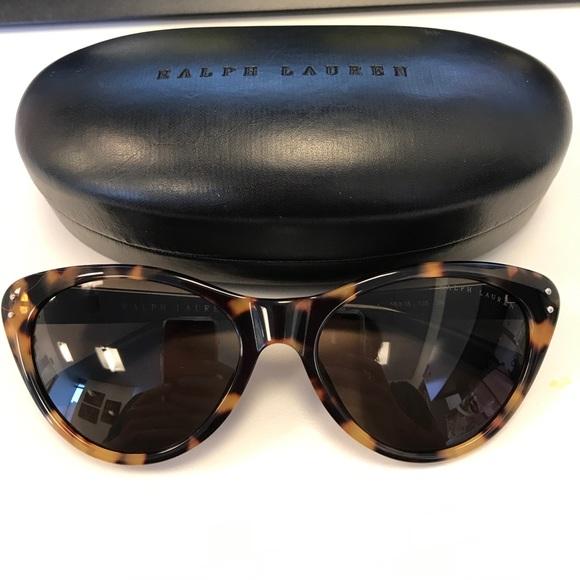 bae42b8a2840d Ralph Lauren Tortoiseshell cat eye sunglasses
