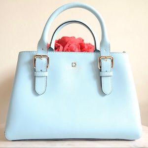  kate spade light blue satchel 