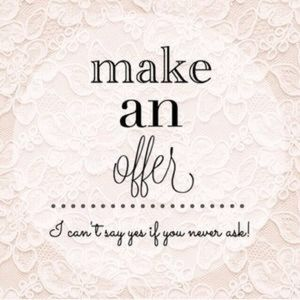 ✨ Make me an offer! ✨