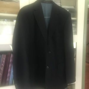 Navy Blue Hugo Boss Suit Coat