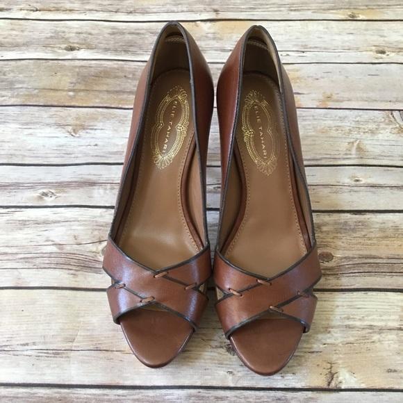 8cf6934bd7e Elie Tahari Shoes - 🎉 2  10 Sale! Elie Tahari Zaria Peeptoe Pumps