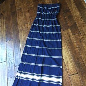 Vineyard Vines Maxi strapless dress