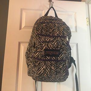 Jansport Zebra Print Backpack