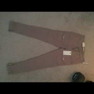 Joie jeans dark tan