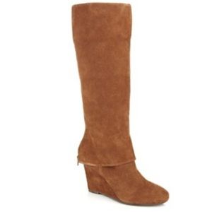 OFFERS❤️STEVEN BY STEVE MADDEN SUEDE BOOTS SZ10