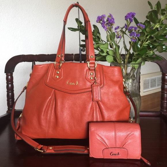 028ada3e41 Coach Handbags - COACH ASHLEY CARRYALL WITH A WALLET(FINAL PRICE!