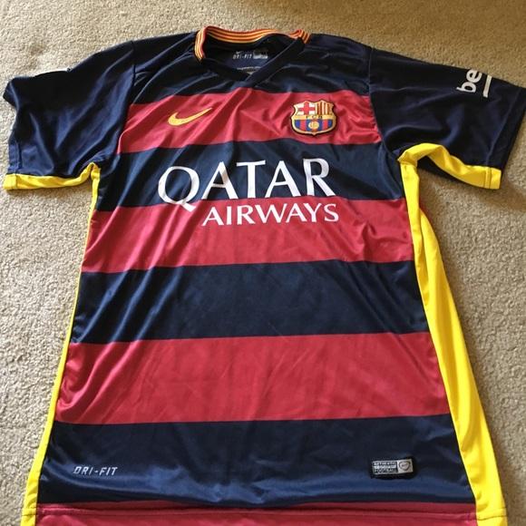 watch 0b5ae daa70 Fcb Neymar jr jersey