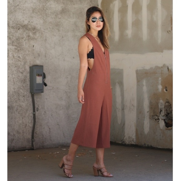 Forever 21 Other - Mauve brown jumpsuit
