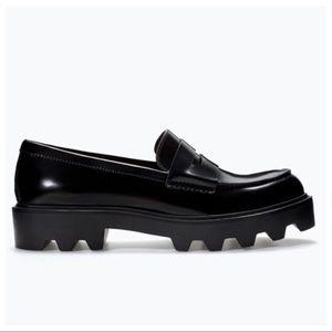 Zara Trafaluc Track Sole Shoe