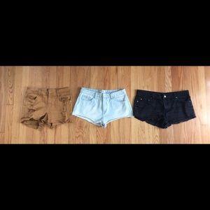 FOREVER 21 3 Shorts!