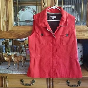 COLD WATER CREEK VEST