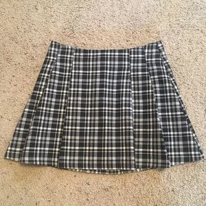 H&M 90s Clueless Plaid Tartan Mini Skirt 4 / Small