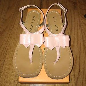 Unisa Unligia Dark Pink Bow Sandals
