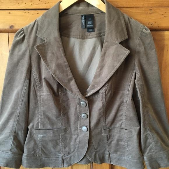 1cc6ae5342e63 Bisou Bisou Jackets & Coats | Brown Lightweight Corduroy Jacket ...