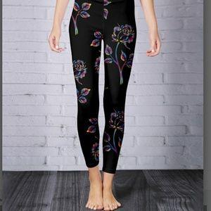 Pants - 🔶️JUST IN🔶️ PLUS & MISS Rainbow Floral Leggings