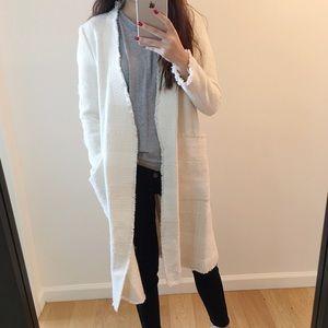 🆕 Own-Zara white tweed jacket