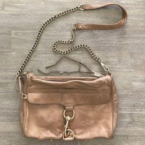 Rebecca Minkoff MAC Tan Taupe crossbody bag purse