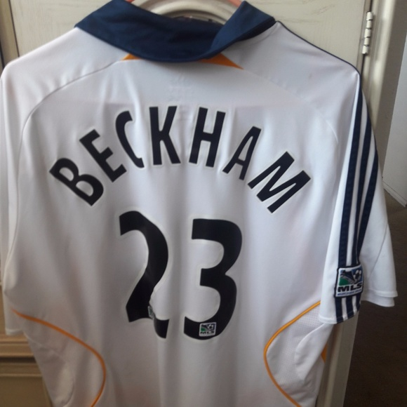 2b03b4153 Adidas Other - Adidas MLS LA Galaxy David Beckham  23 Jersey