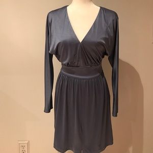 HALSTON HERITAGE Sex In The City Blue Dress XS