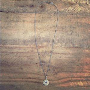 Jewelry - Vintage Bird Silvertone Fashion Necklace