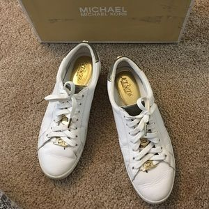 MK JetSet6 White Sneakers