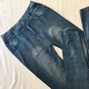 Denim - Jean tights!