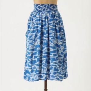 Anthropologie Shape Suggestions Skirt
