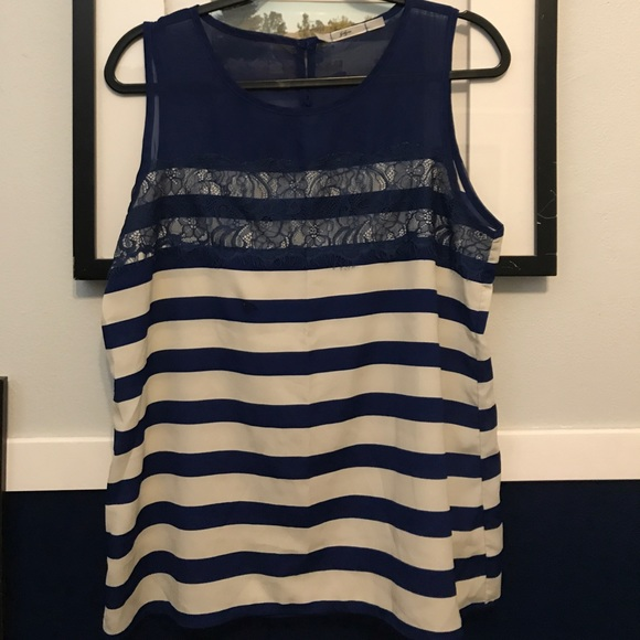 c401bb94b71 Gibson Tops - Nordstrom Gibson Lace   Stripes Tank Top!