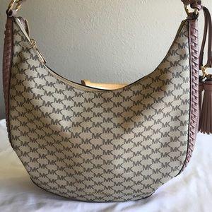 f822d56d5d85 MICHAEL Michael Kors Bags - Michael Kors Signature Lauryn Large Shoulder Bag