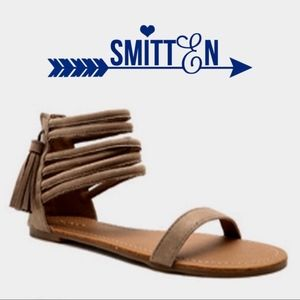 Shoes - LAST - JUSTINE hello spring sandal - TAUPE