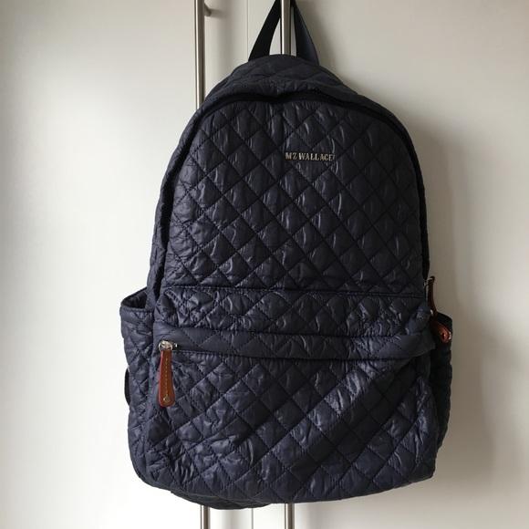 e0cd54d998ae MZ Wallace deep navy medium Metro backpack. M 5977cc0b78b31c50ba003b20