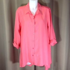 Chico's A-line tunic length top