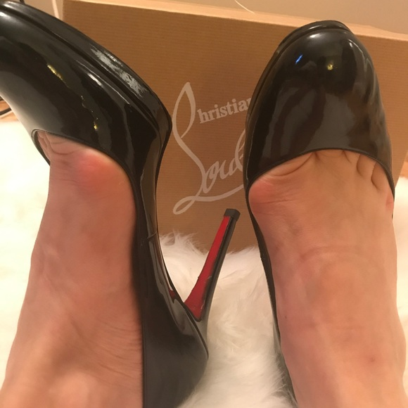 59db2ac548 Christian Louboutin Shoes | Simple Pump 100 Patent Calf | Poshmark