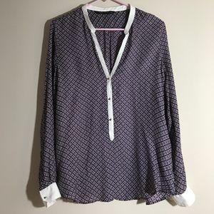 Zara 100% silk blouse from Paris!!