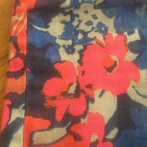 LOFT Skirts - Ann Taylor Loft Flower Neon Pencil Skirt 6 P