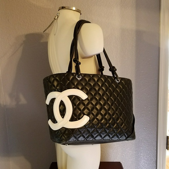 05d113398c60 CHANEL Handbags - CHANEL Cambon Ligne Large Tote - Calfskin