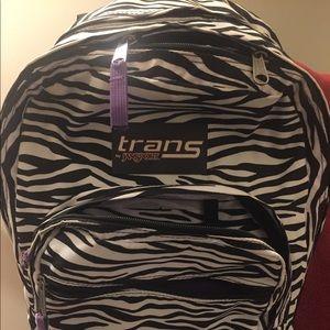 Transport by Jansport Zebra backpack