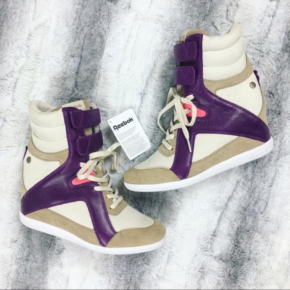 a4f1f140d7d Reebok x Alicia Keys Wedge Sneakers