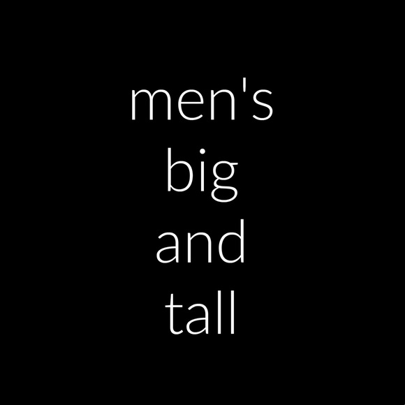 Other - Men's Big and Tall Sizes 2X / 3X