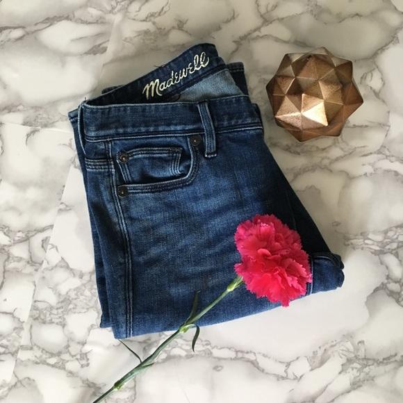 Madewell Denim - Madewell Rail Straight Jeans ✨