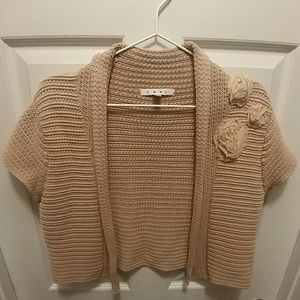 CAbi shrug knit sweater