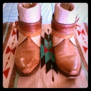OLD WEST CUSTOM COWGIRL BOOTS