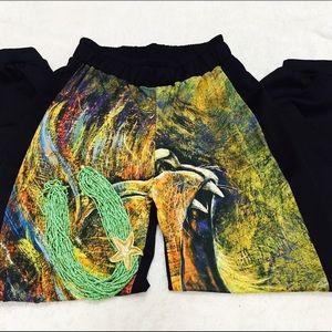 Pants - Printed Jogger pants