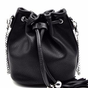 Handbags - Black Bucket Bag