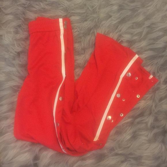 Pants - Track Button Snap Pants