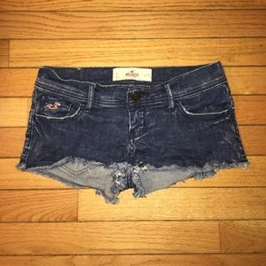 Hollister Distressed Jeans Shorts