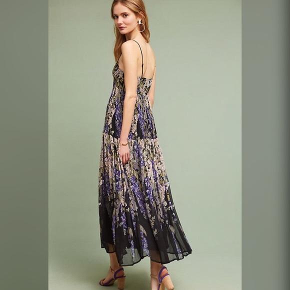 db1bde4f0ff6 Anthropologie Dresses | Adelia Maxi Floral Floreat Dress | Poshmark