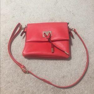 Cross body red bag